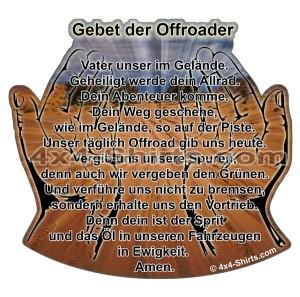 Gebet für Offroader